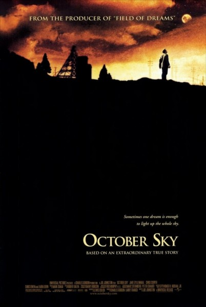 October Sky movie font