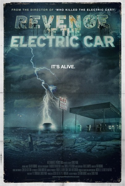 Revenge of the Electric Car movie font