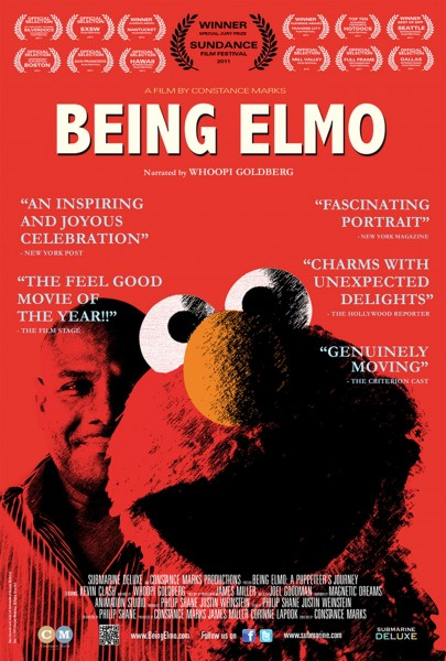 Being Elmo movie font