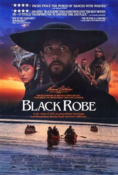 Black Robe movie font
