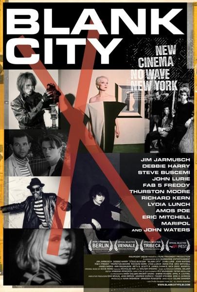 Blank City movie font