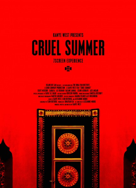 Cruel Summer movie font