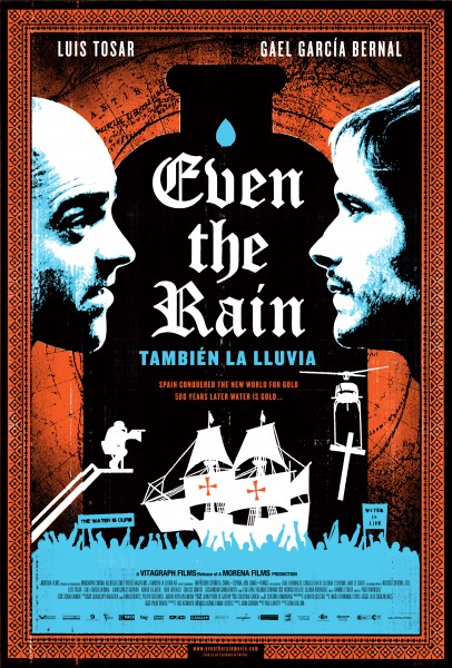 Even the Rain movie font