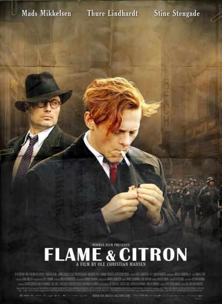Flame & Citron movie font