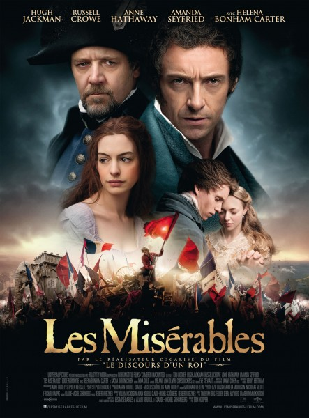 Les Miserables movie font
