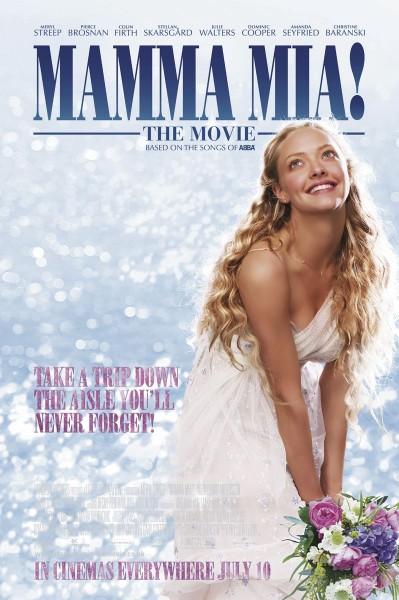 Mamma Mia movie font
