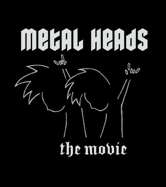 Metal Heads movie font