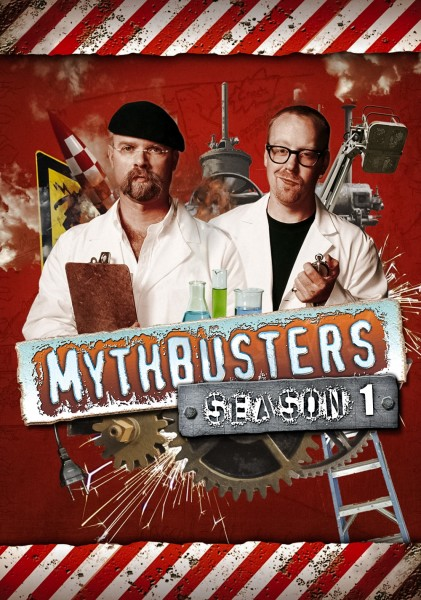 MythBusters movie font