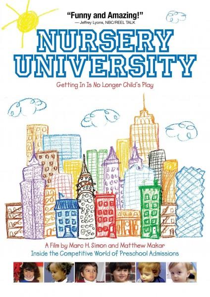 Nursery University movie font