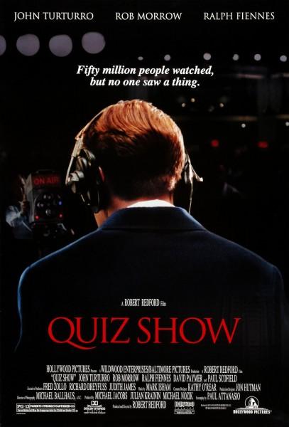 Quiz Show movie font