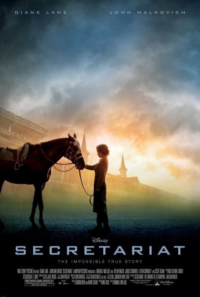 Secretariat movie font