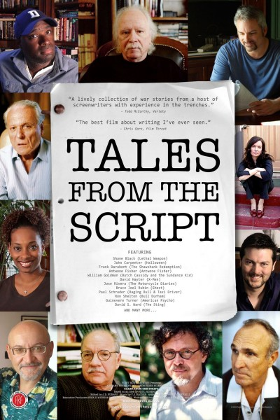 Tales from the Script movie font