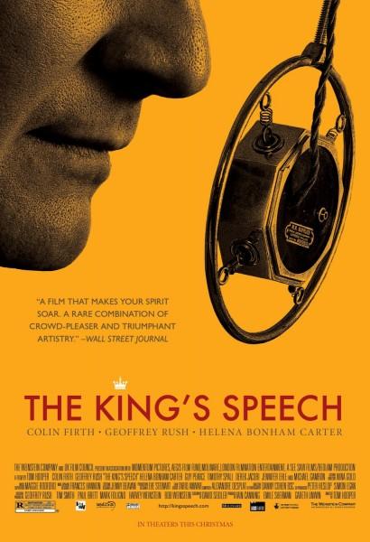 The King's Speech movie font