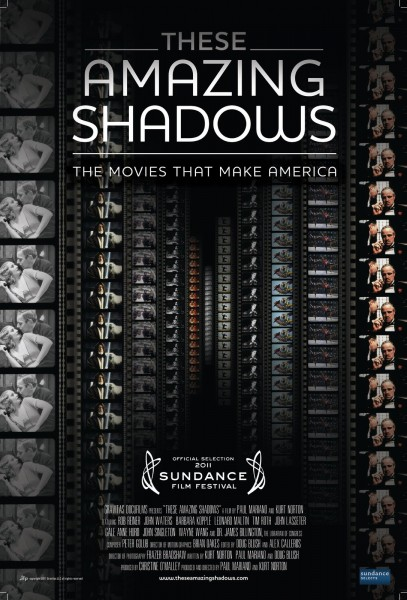 These Amazing Shadows movie font