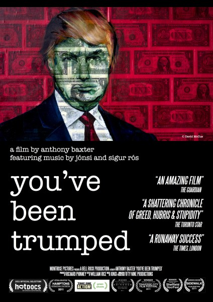 You've Been Trumped movie font