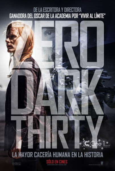 Zero Dark Thirty movie font