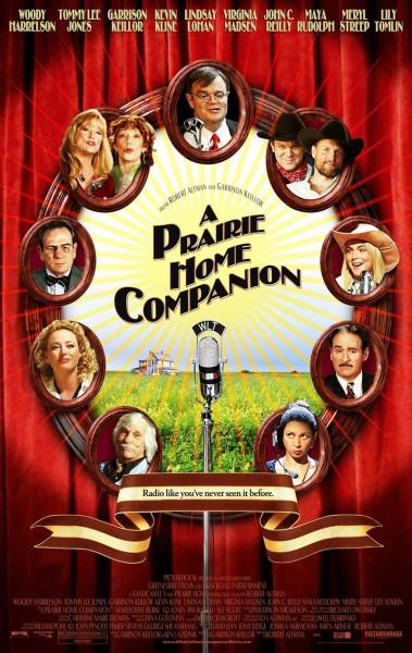 A Prairie Home Companion movie font