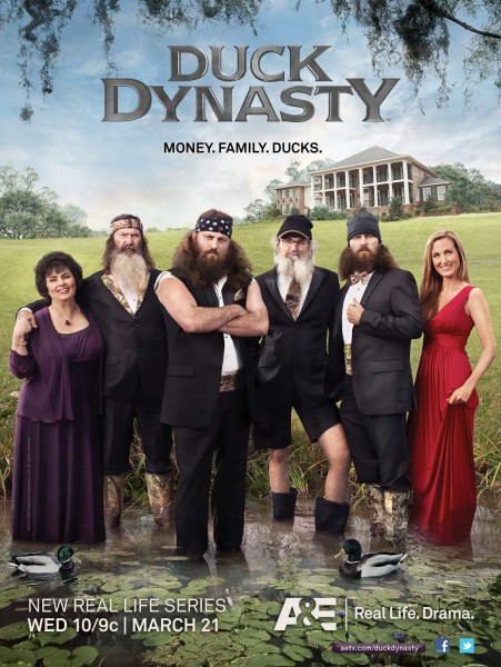 Duck Dynasty movie font