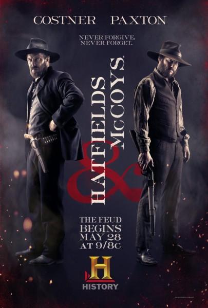 Hatfields & McCoys movie font