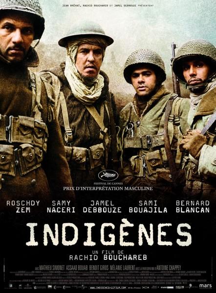 Indigenes movie font