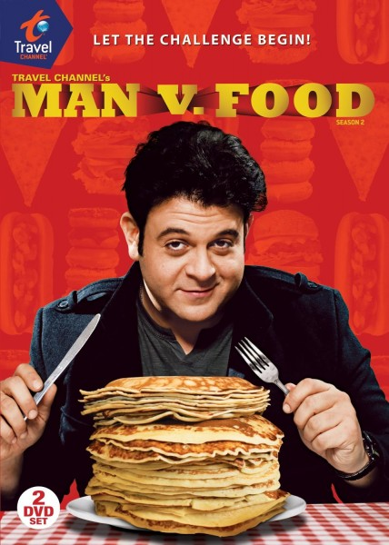 Man v. Food movie font