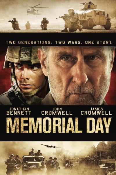 Memorial Day movie font