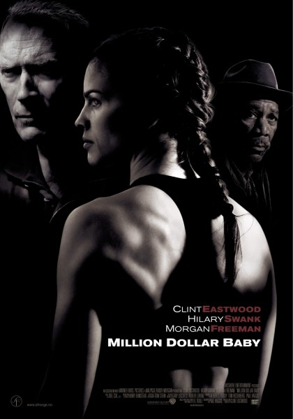 Million Dollar Baby movie font
