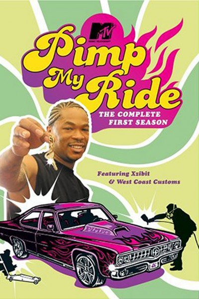Pimp My Ride movie font