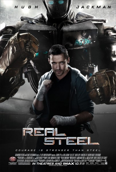 Real Steel movie font