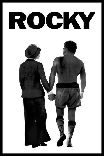 Rocky movie font