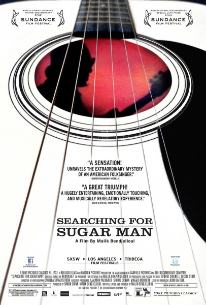 Searching for Sugar Man movie font