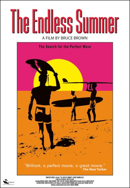 The Endless Summer movie font