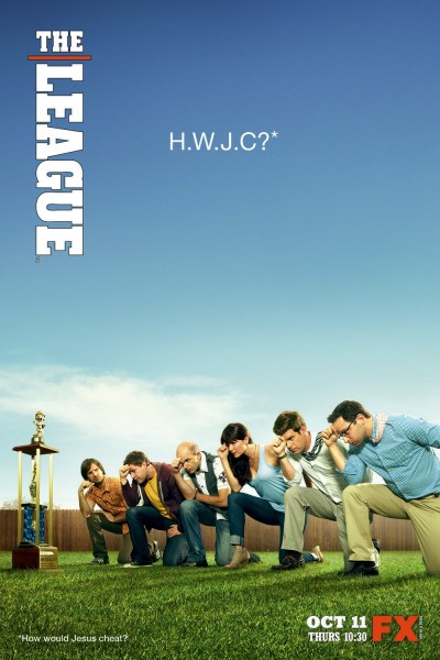 The League movie font