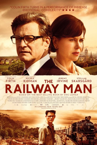 The Railway Man movie font