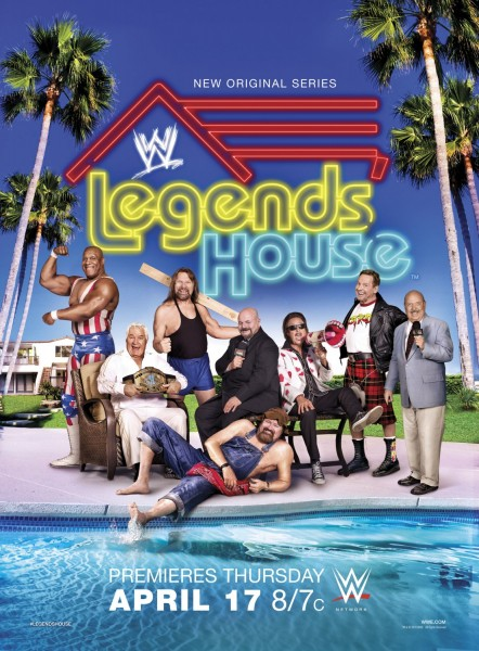 WWE Legends' House movie font