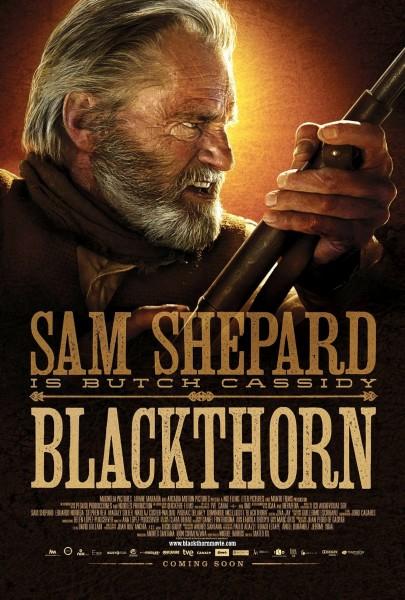 Blackthorn movie font
