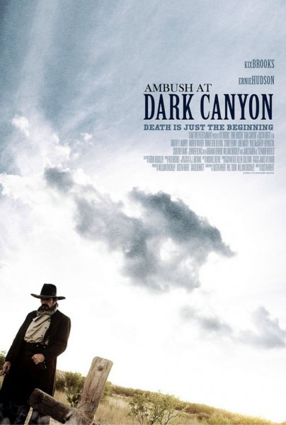 Dark Canyon movie font