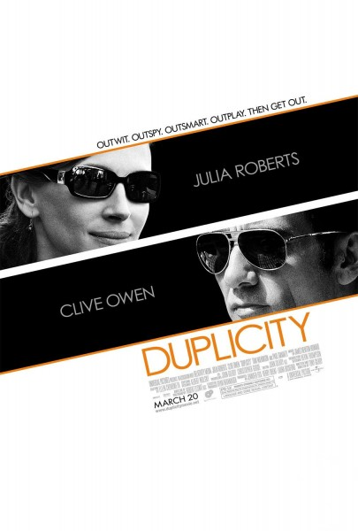 Duplicity movie font