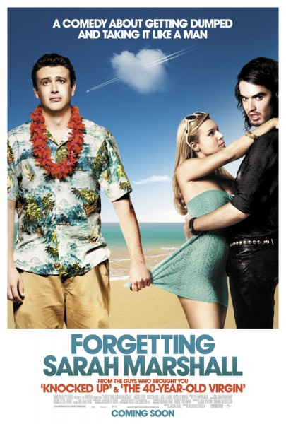 Forgetting Sarah Marshall movie font