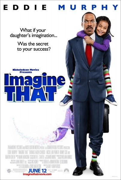 Imagine That movie font