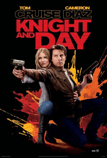 Knight and Day movie font
