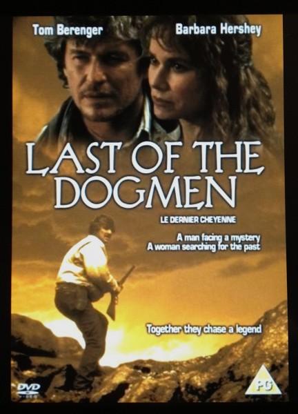 Last of the Dogmen movie font