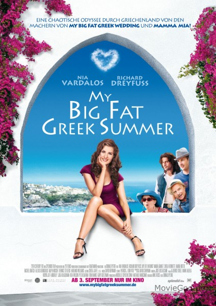 My Big Fat Greek Summer movie font