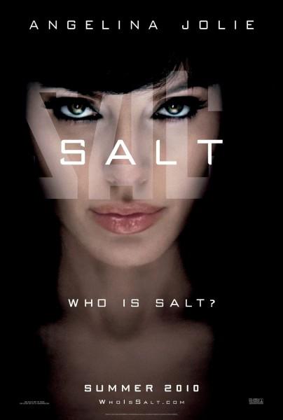 Salt movie font