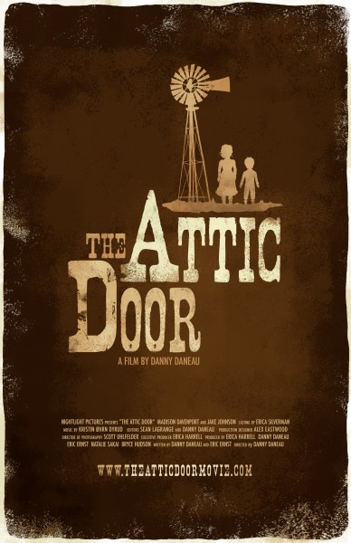 The Attic Door movie font