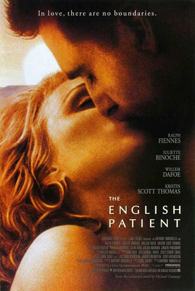 The English Patient movie font