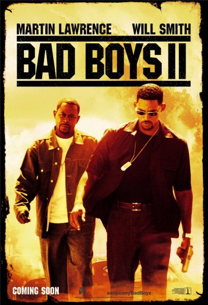 Bad Boys II movie font