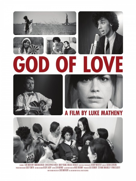 God of Love movie font
