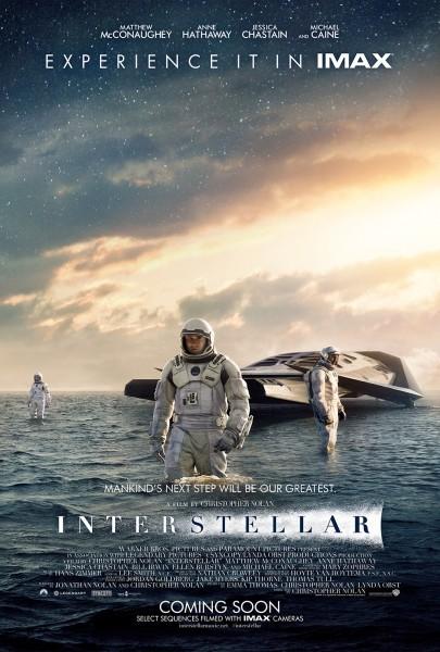 Interstellar movie font