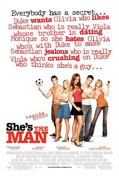 She's the Man movie font